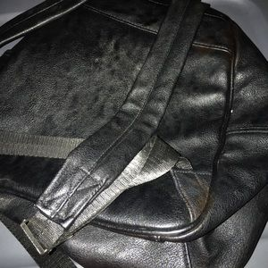 Claire's Bags - Claire backpack black leather purse